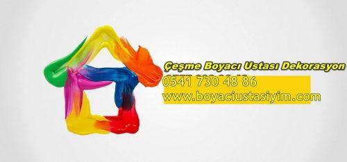 çeşme Daire Boyama Ustası 0541 730 48 86